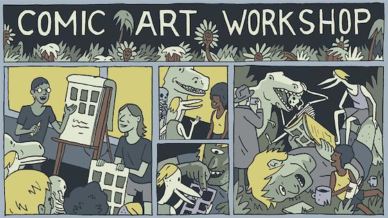Comic Art Workshop 2017