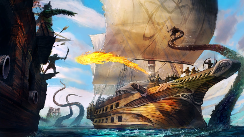 Dark Masts: A Dead Seas Card Game project video thumbnail