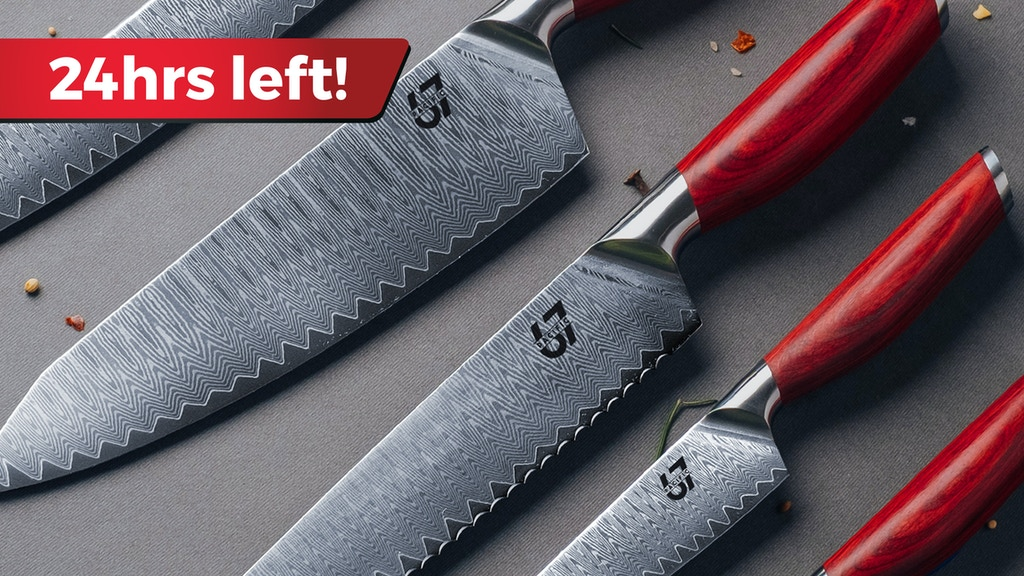 Pacific67 - Ultimate Kitchen Knife Collection project video thumbnail