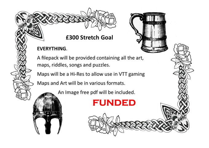 £300 STRETCH GOAL FUNDED