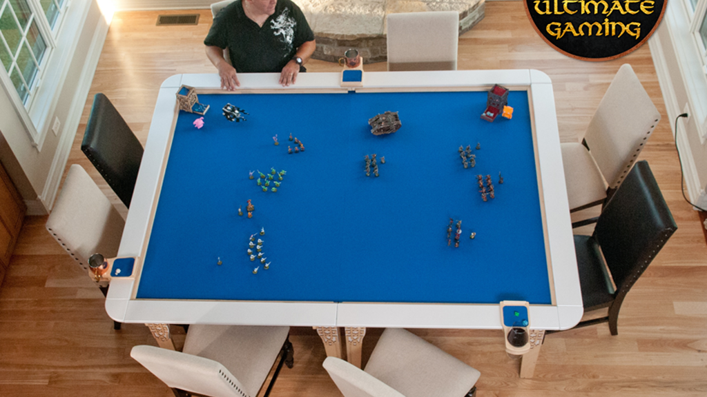 Table of Ultimate Gaming: The Ultimate Game Table project video thumbnail