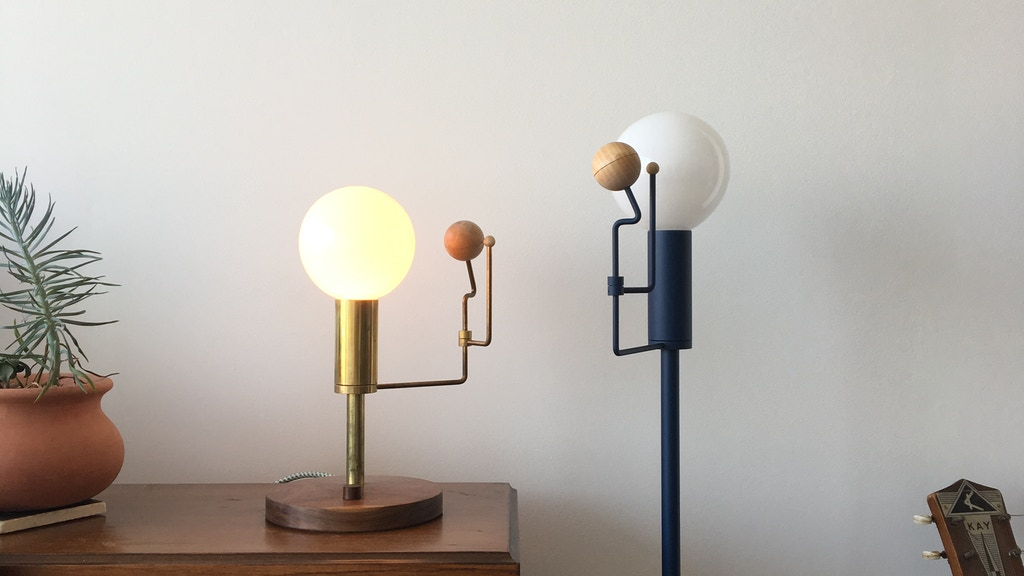 Orrery Lamp: A Minimal, Dimmable Solar System project video thumbnail