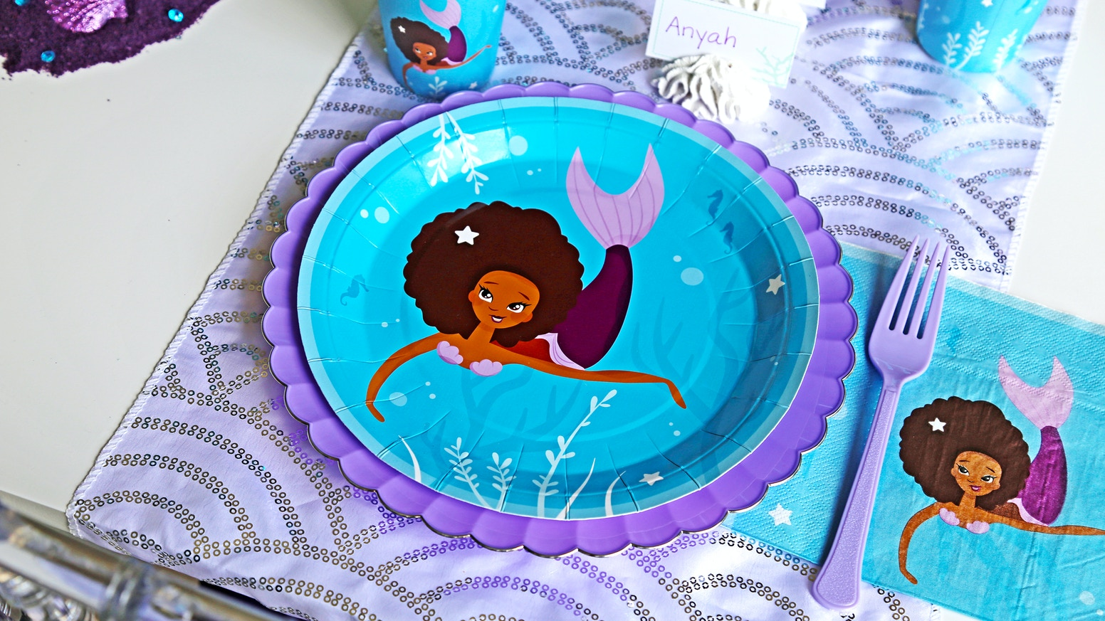 Party supplies celebrating children of color. by Craft My Occasion ...