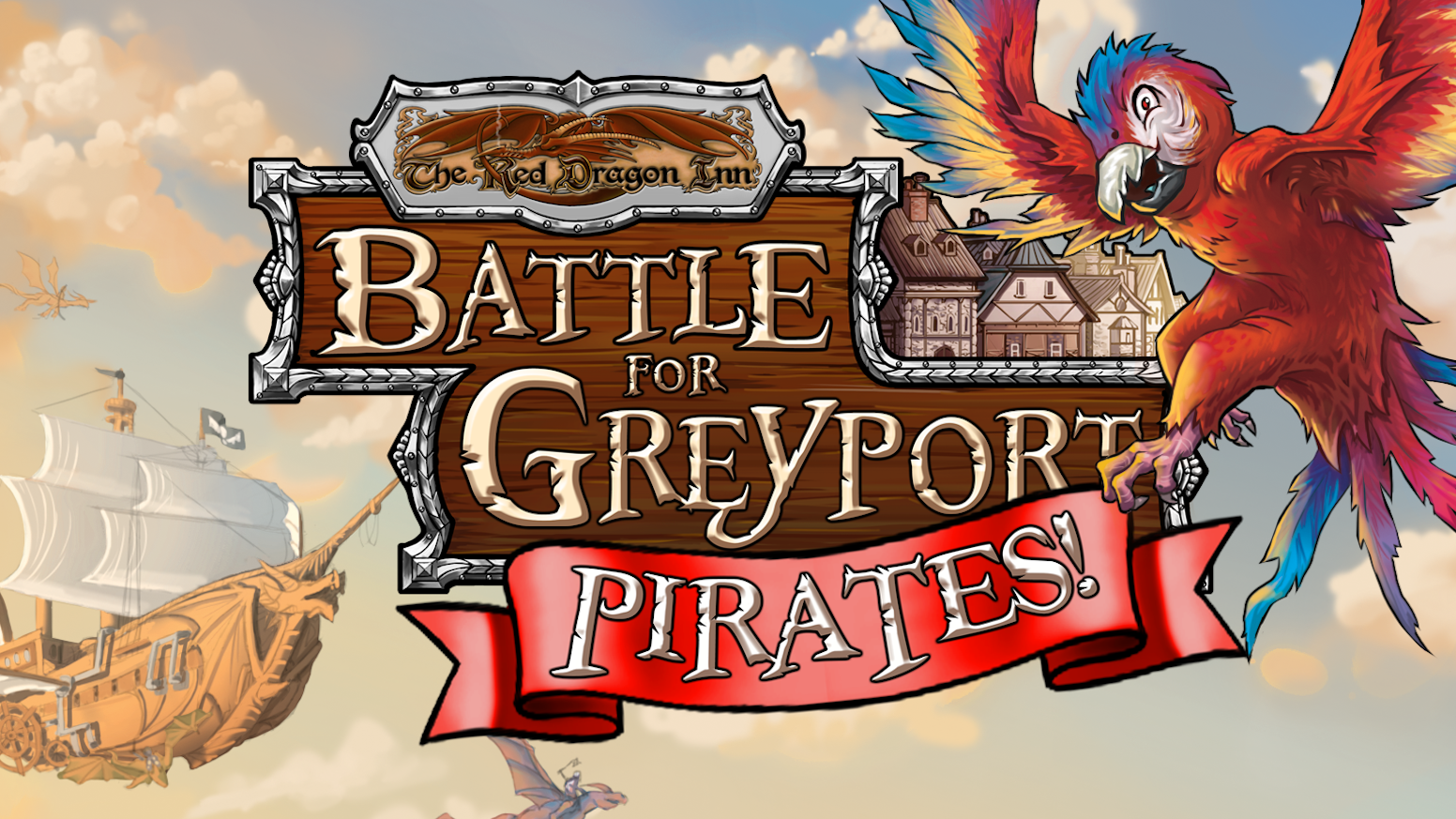 Pirates are attacking! Defend Greyport from new monsters with new heroes in this expansion to the hit cooperative deckbuilding game!