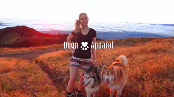 Clothing for a cause. Doga Apparel donates10% to rescue dogs