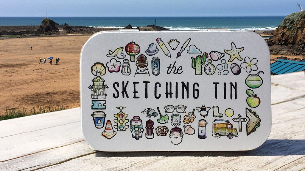 The Sketching Tin project video thumbnail