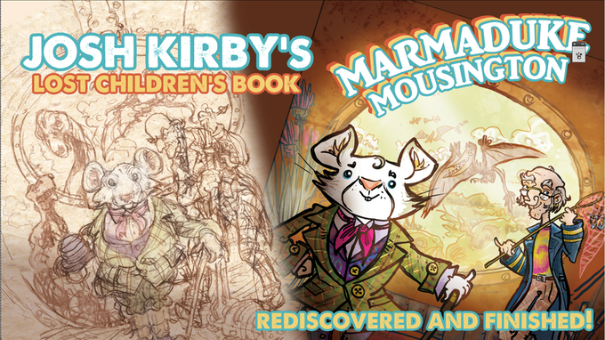 Josh Kirby's story, rediscovered and finished! With your help!