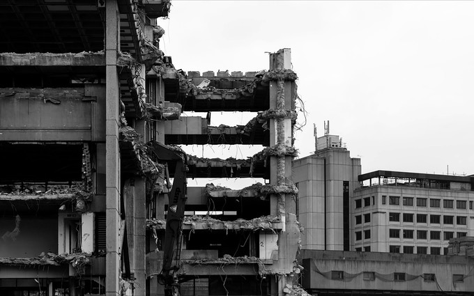 Tom Bird - Library Demolition