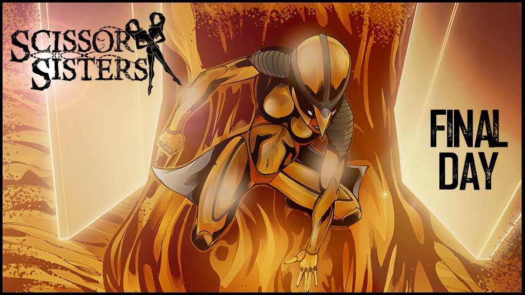 Scissor Sisters SWAN SONG: A Time-Tripping Graphic Novel project video thumbnail