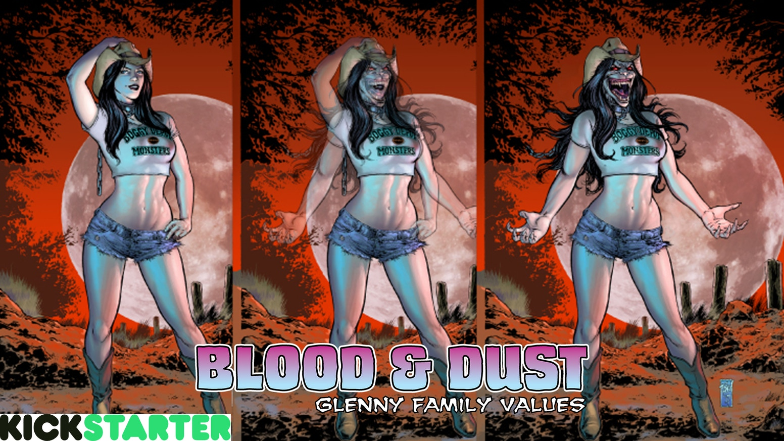 The critically acclaimed vampire horror story Blood & Dust is back to finish what it started with The Life & Undeath of Judd Glenny.