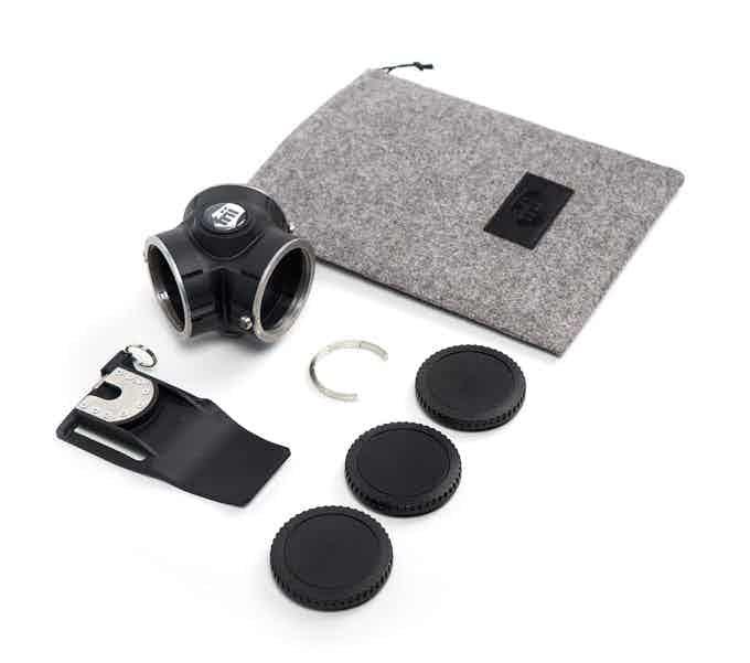 1 x Beltclip    |   1 x Housing    |   1 x Frii pouch   |   5 x Sets of Cap Magnets   | 3 x Protection caps