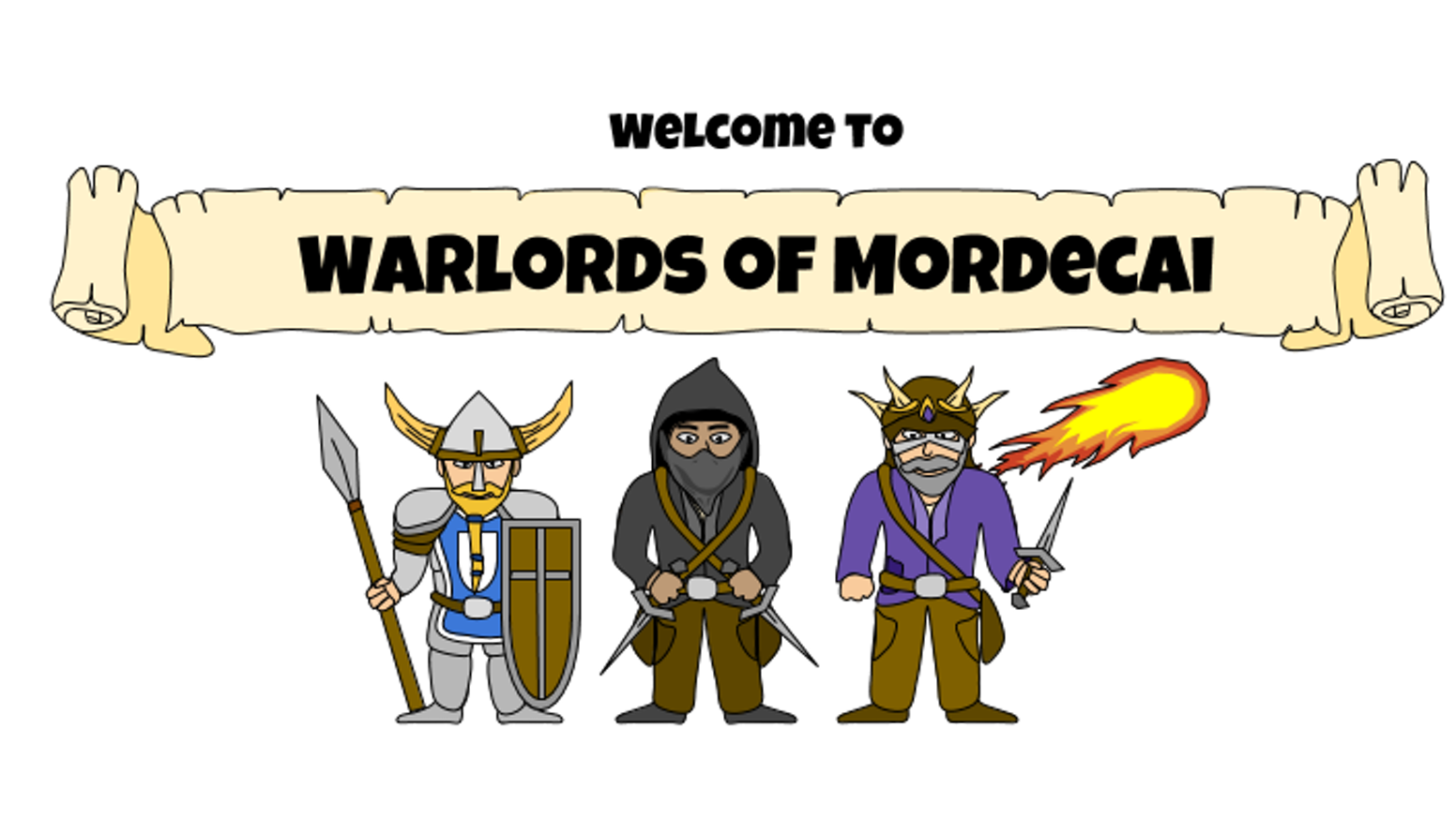 Warlords of Mordecai is a simple, engaging turn-based Role Playing game that is entertaining and accessible to game lovers of all ages
