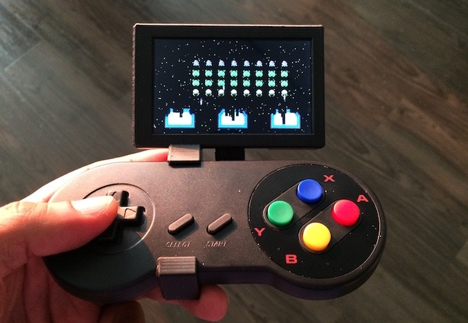 The Noodlendo dock connects a NES game controller. Take that you %$^&# aliens!