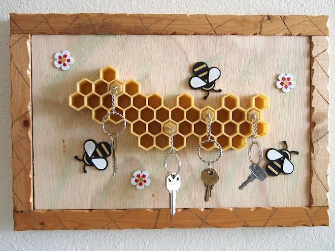 The Honeycomb Key Holder By 3d Ideas Kickstarter