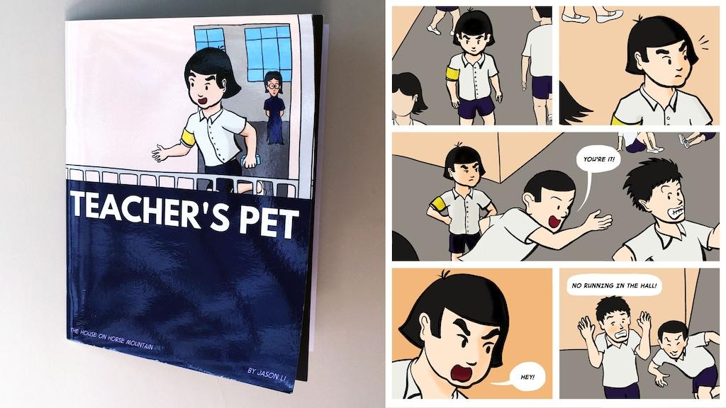 Teacher's Pet – the comic project video thumbnail