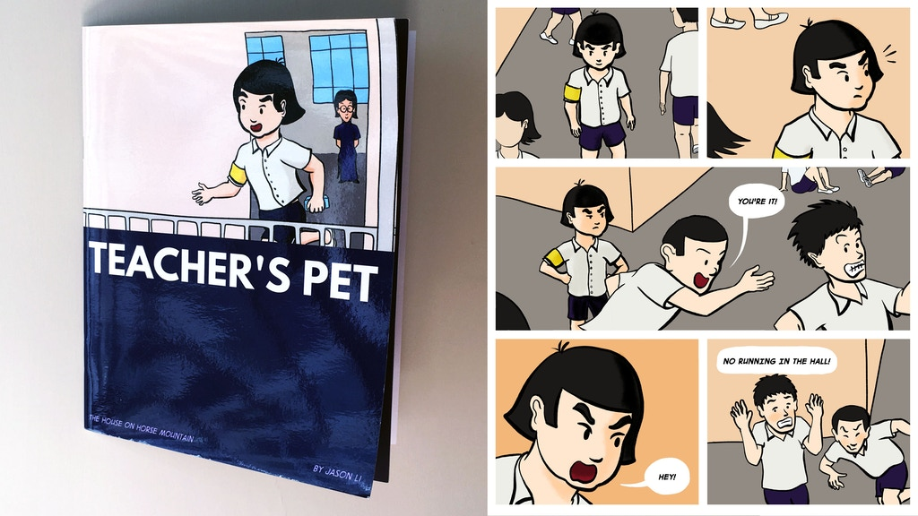 Teacher's Pet – the comic project video thumbnail