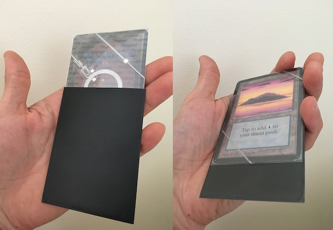 Black covers: PALADIN CARD PROTECTION