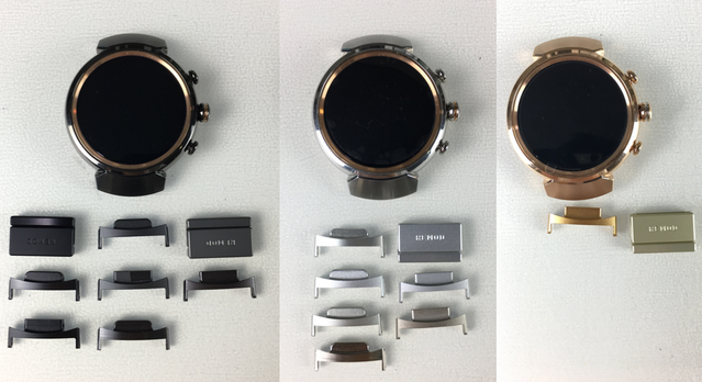 Asus Zenwatch 3 colour vs Colour Matchning vs Remod Watchband Original
