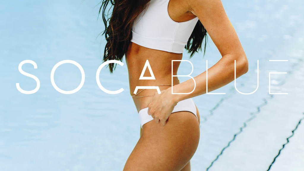 Soca Blue, Luxurious Sustainable Swimwear project video thumbnail