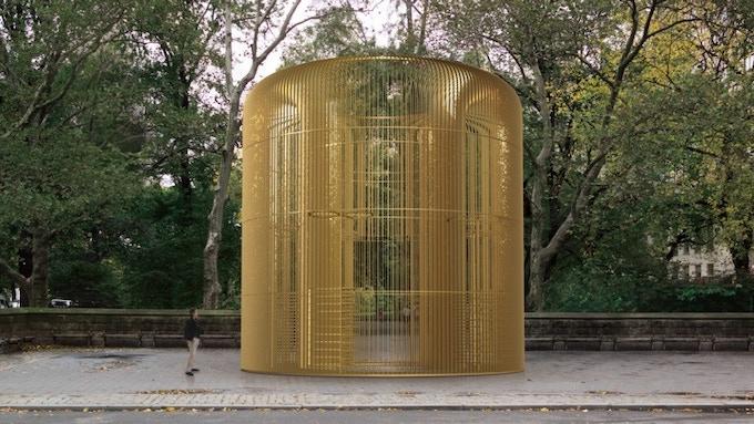 Installation concept rendering, Doris C. Freedman Plaza