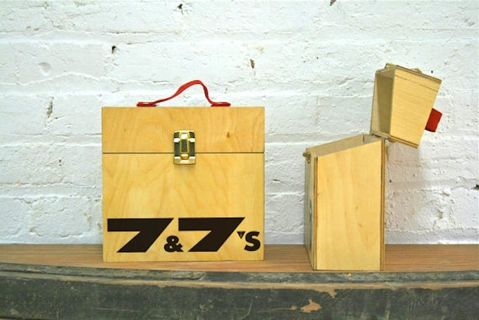 "Wooden 7"" Box (Front)"