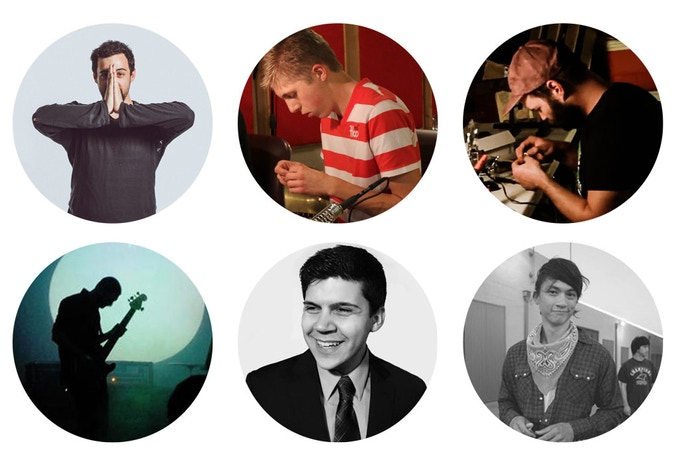 Nick Tzaperas, Tim Gorbunov, Taylor Gibson (Top Row, Left to Right). Eric Welder, Michael Williams, John Chao (Bottom Row, Left to Right)