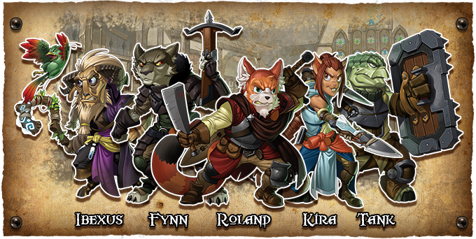The Heroes of the Wanderers Guild!
