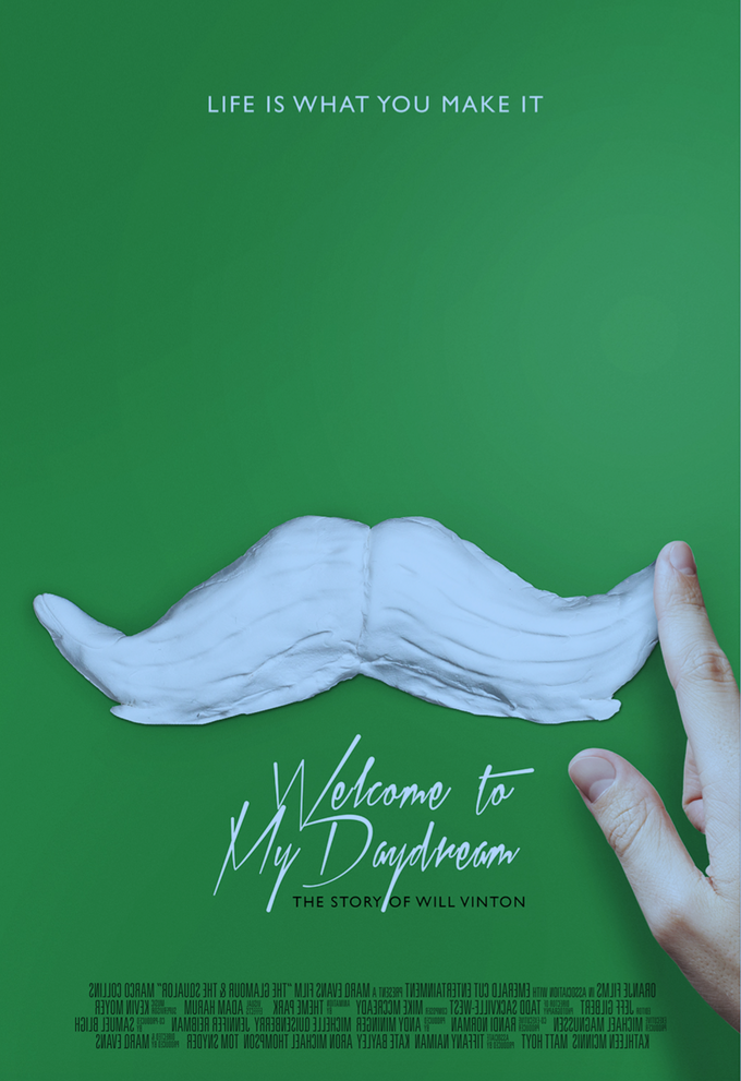 The official poster of 'Welcome to My Daydream.' Starting at $50 level with the film.