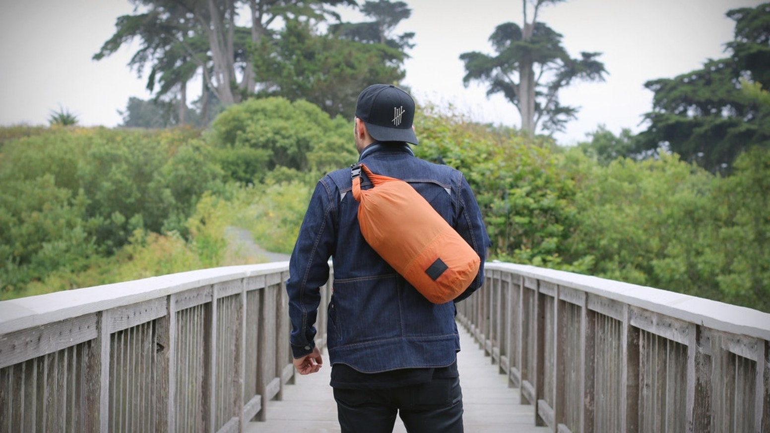 A revolutionary utility backpack with Regenerative FuseFabric™ - Ideal for EDC, Travel, or Gym.