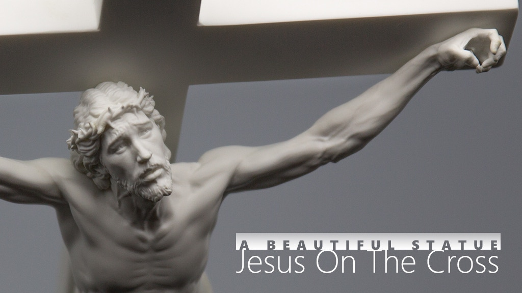 A beautiful statue : 'Jesus on the cross' project video thumbnail