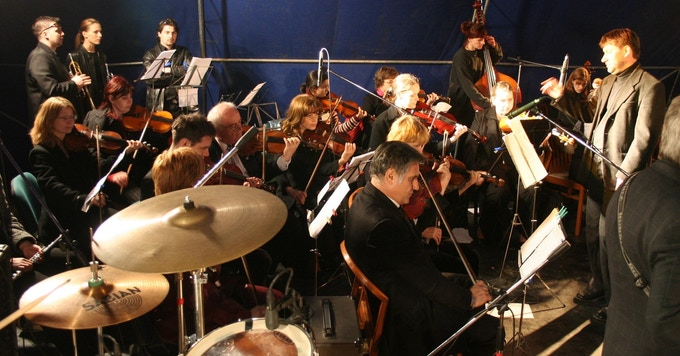 The Paul Gabor Junior Philharmonic Orchestra live in concert, Hungary