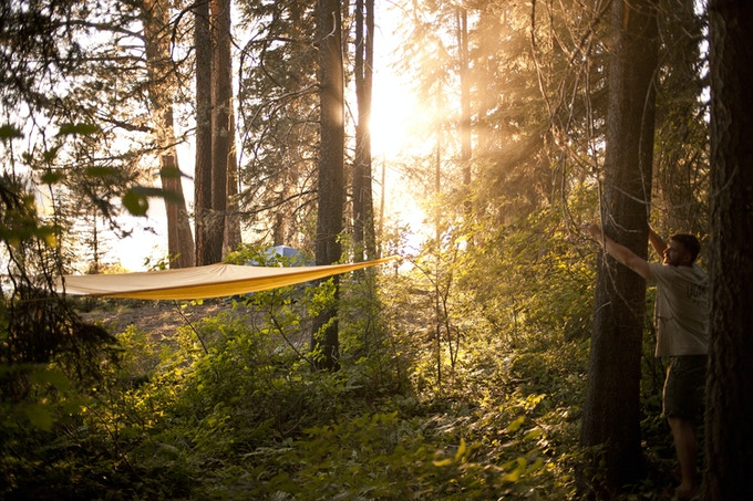 The Treeo A 3 In 1 Utility Hammock That Does It All By