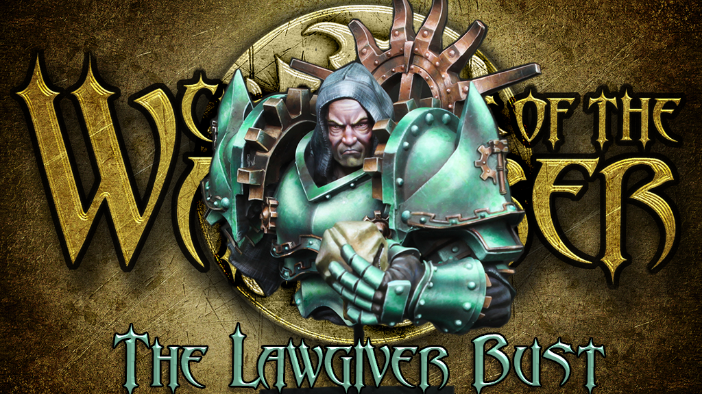 The Lawgiver, Unmasked - Miniatures Bust project video thumbnail