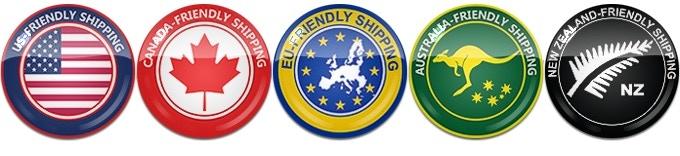 New Shipping Rates: United Kingdom & Europe