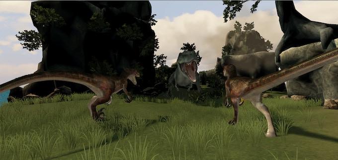 Epic prehistoric battles!