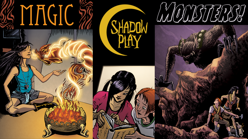 Shadow Play #1: All Ages Fantasy/Adventure Series project video thumbnail