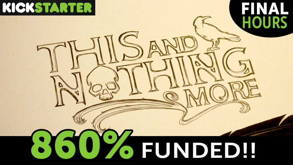 Edgar Allan Poe: This and Nothing More Illuminated Edition project video thumbnail