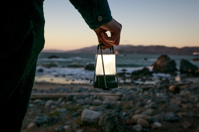 use PAL with the lantern accessory for ambient lighting.