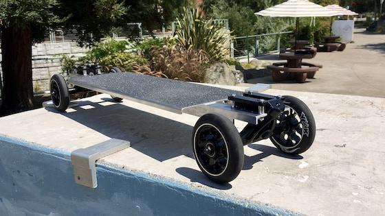 Railgun Streetboard aluminum longboard