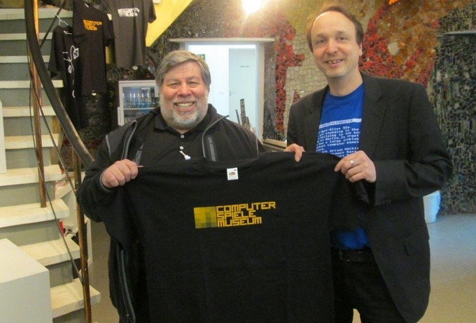 2013, Steve Wozniak visited