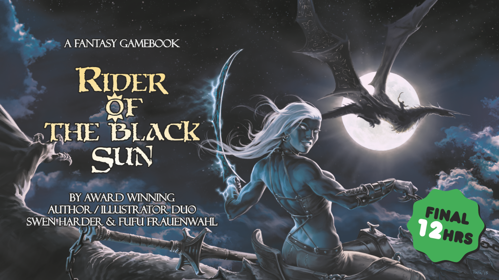 Rider of the Black Sun: A Fantasy Gamebook project video thumbnail