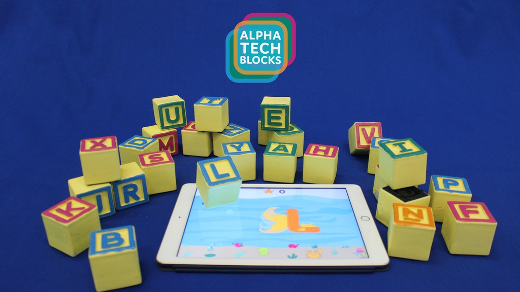 AlphaTechBlocks: Physical blocks playing in a digital world. project video thumbnail