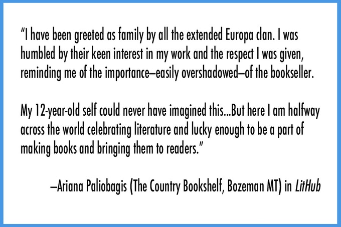 Click here to read Ariana's post in LitHub