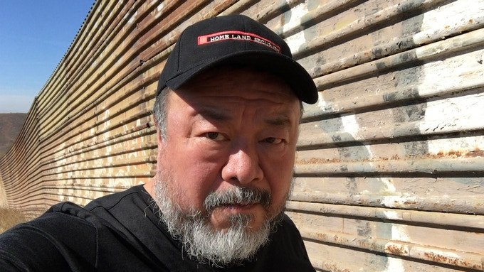 Ai Weiwei at the US - Mexico Border, 2016
