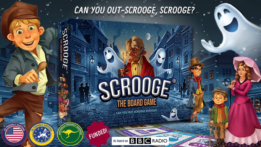Scrooge The Board Game project video thumbnail
