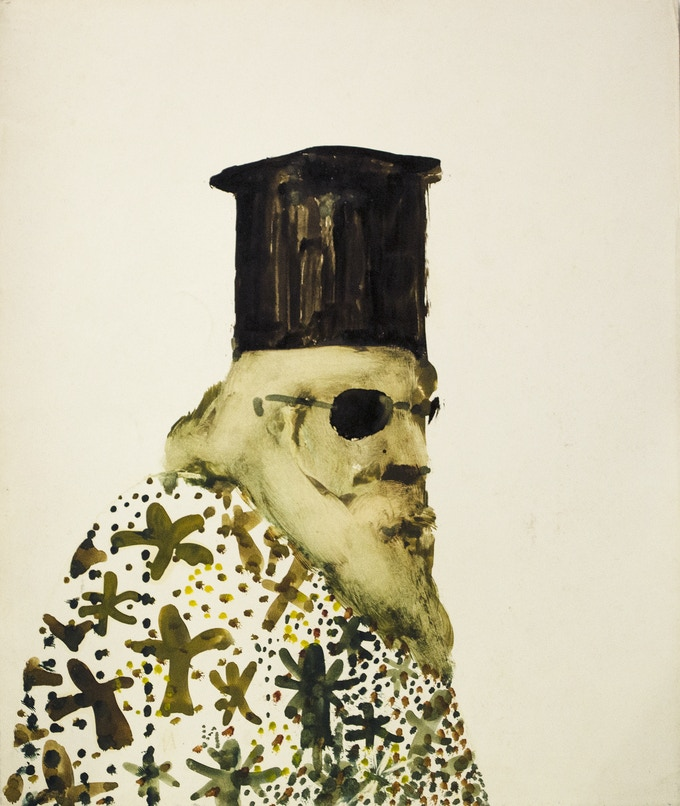 Untitled artwork from SIDNEY NOLAN: THE GREEK SERIES