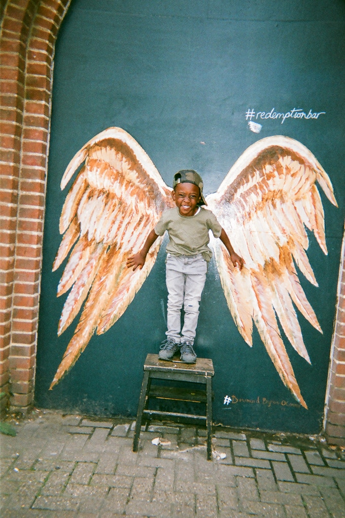 COVER IMAGE: Angel boy by Maya Simeon