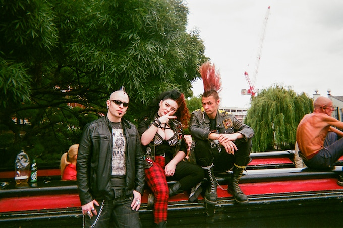 MARCH 2018 image: Camden Town punks by Jackie Cook