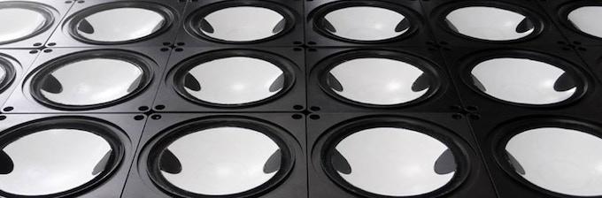 LOUDSPEAKER CONES MADE OF CERAMICS