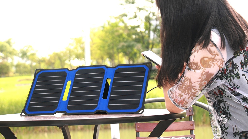 Powerleaf+: A solar charger perfect for outdoor enthusiasts project video thumbnail
